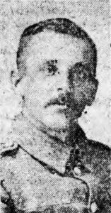 Private T J Williams, 2nd Battalion, Royal Welsh Fusiliers